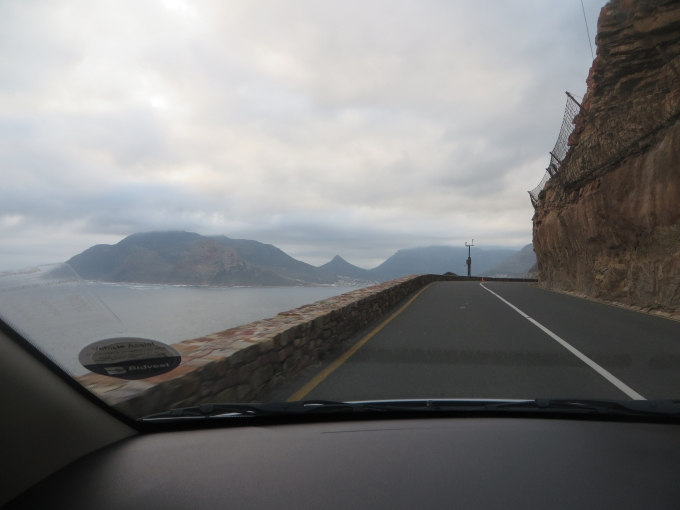 chapmans peak fences