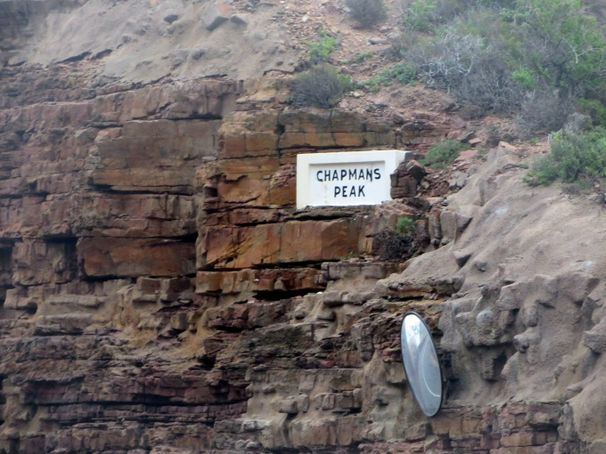 chapmans peak sign