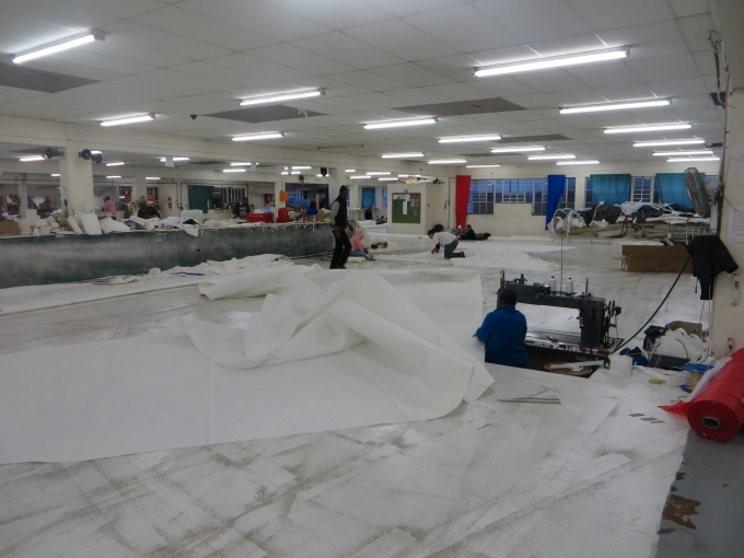 huge sail loft