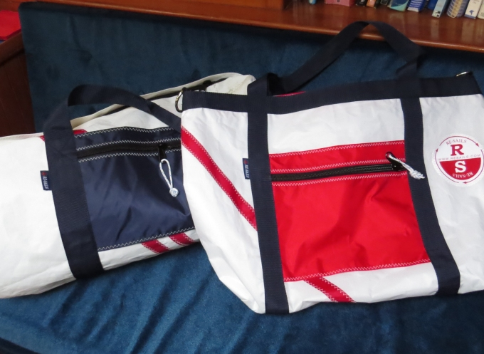 resails duffel and tote