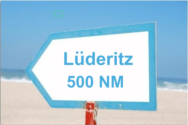 to luderitz