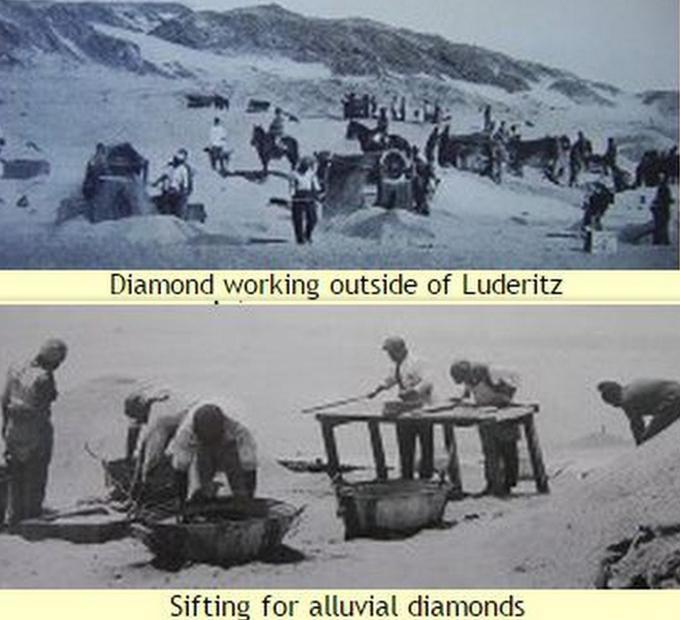 diamond miners c. 1910 namibia