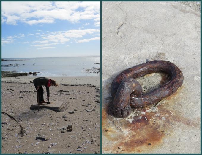 anchor rings at sturmvogelbucht