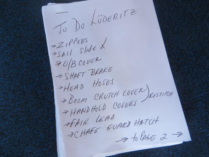 luderitz chore list