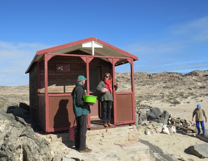 beach shack in luderitz