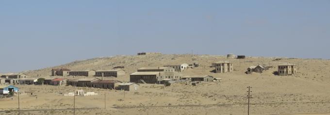 kolmanskop panorama namibia