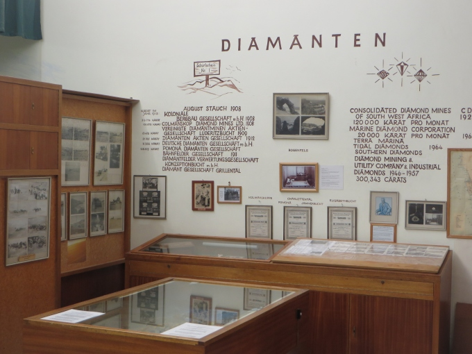 luderitz museum diamond exhibit