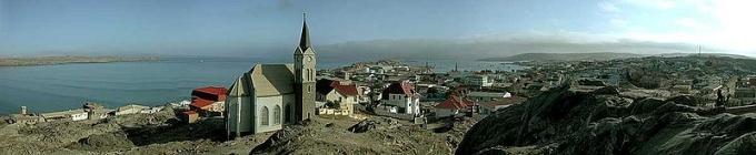 panorama of luderitz