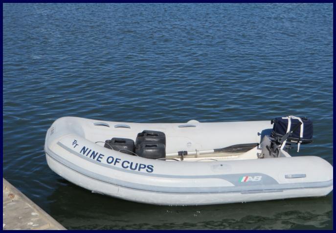 dinghy load of fuel