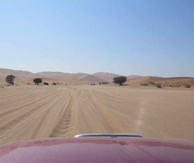 thick sand in naukluft namib np