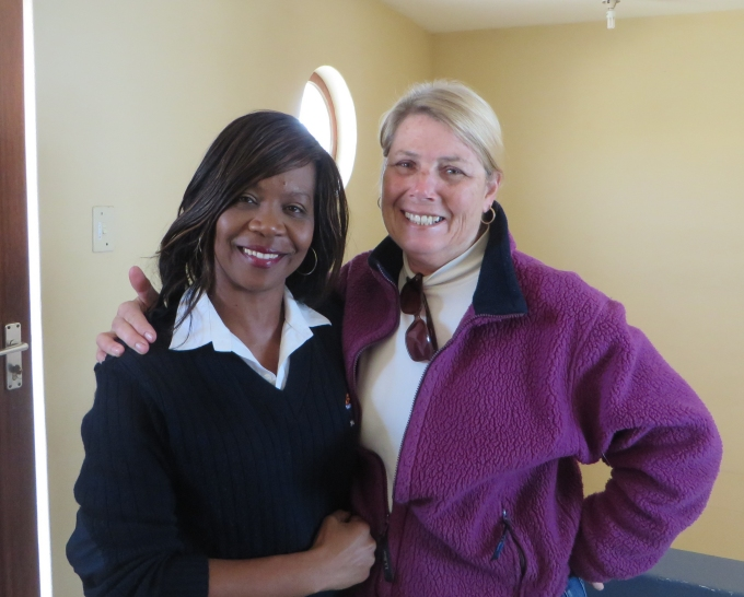 evaldine and marcie in luderitz