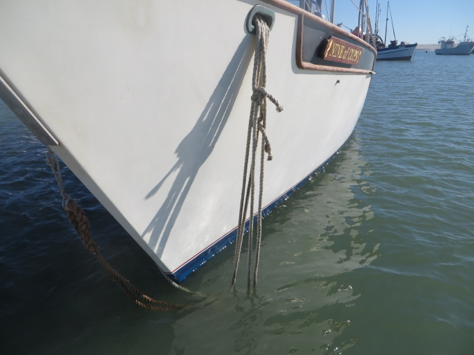 double up the mooring lines