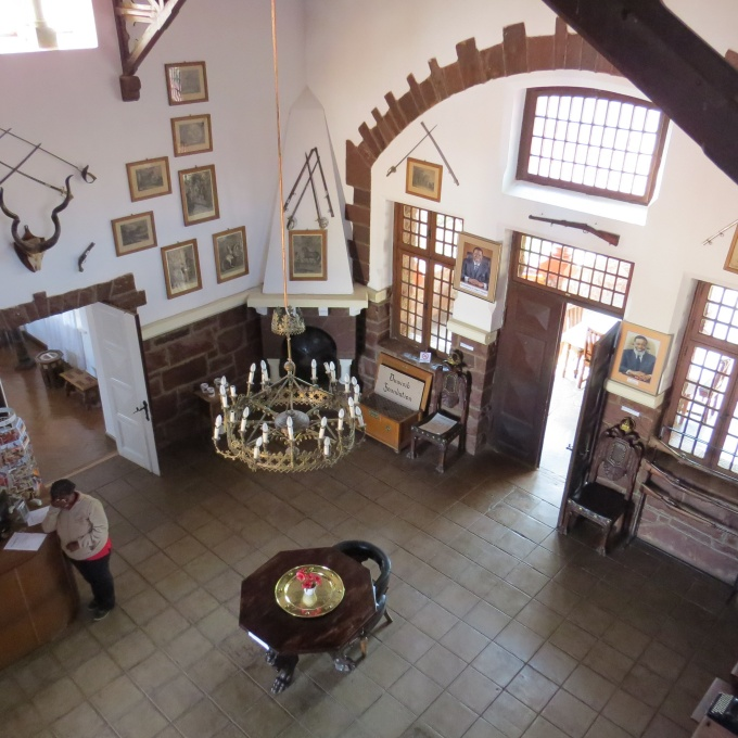 great hall of duwisib castle namibia