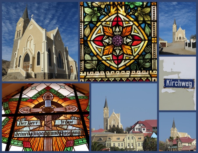 felsenkirche collage