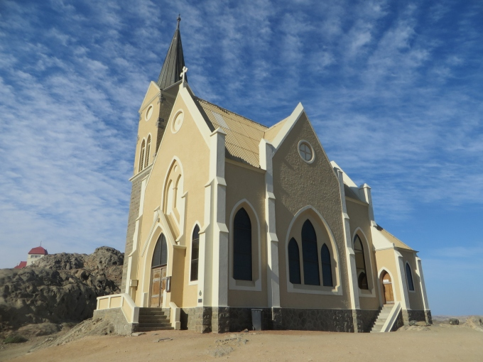 felsenkirch in luderitz namibia