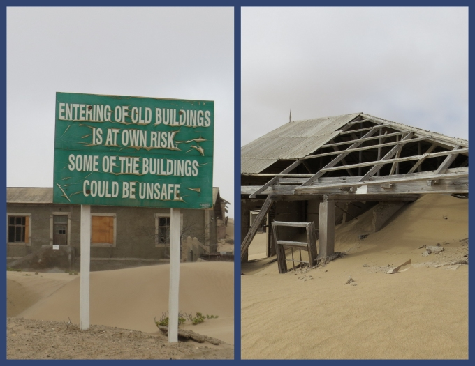 kolmanskop warning