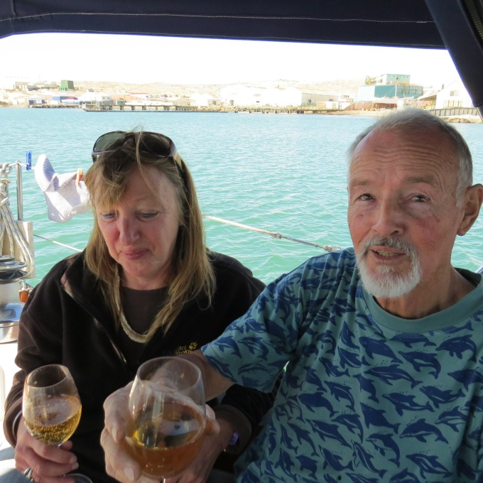 ian and doris of luderitz namibia