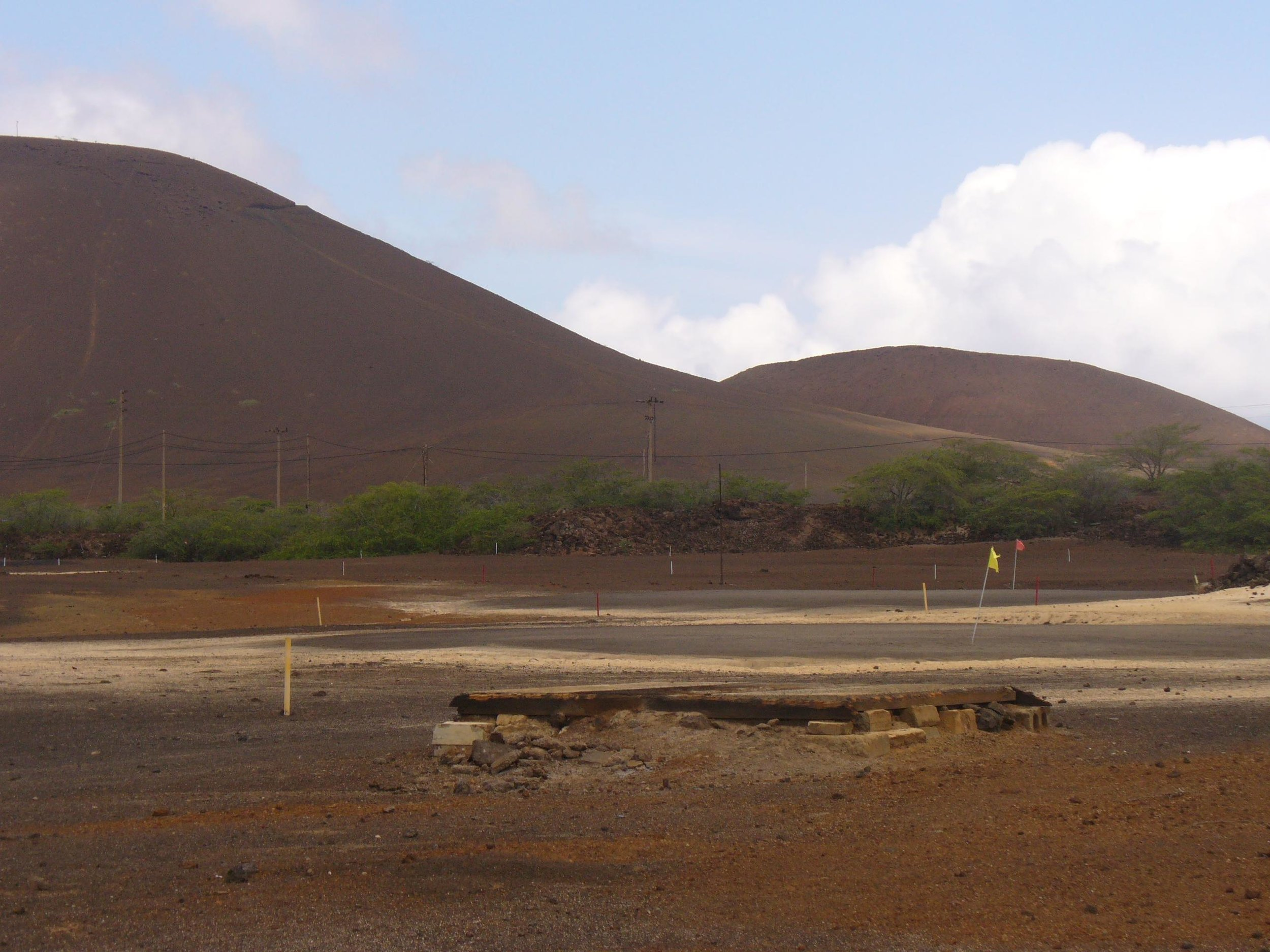 golf course on ascension island