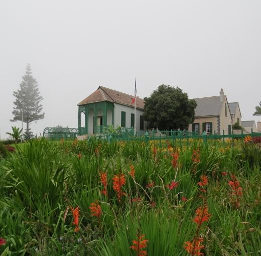 longwood house st. helena island