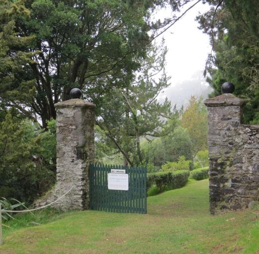 entrance to napoleons tomb on st. helena island