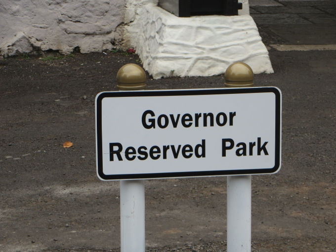governor reserved park