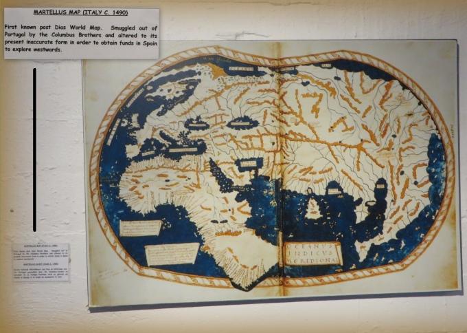 martellus map 1490