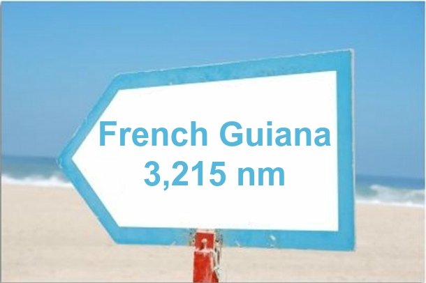 french guiana 3215 nm