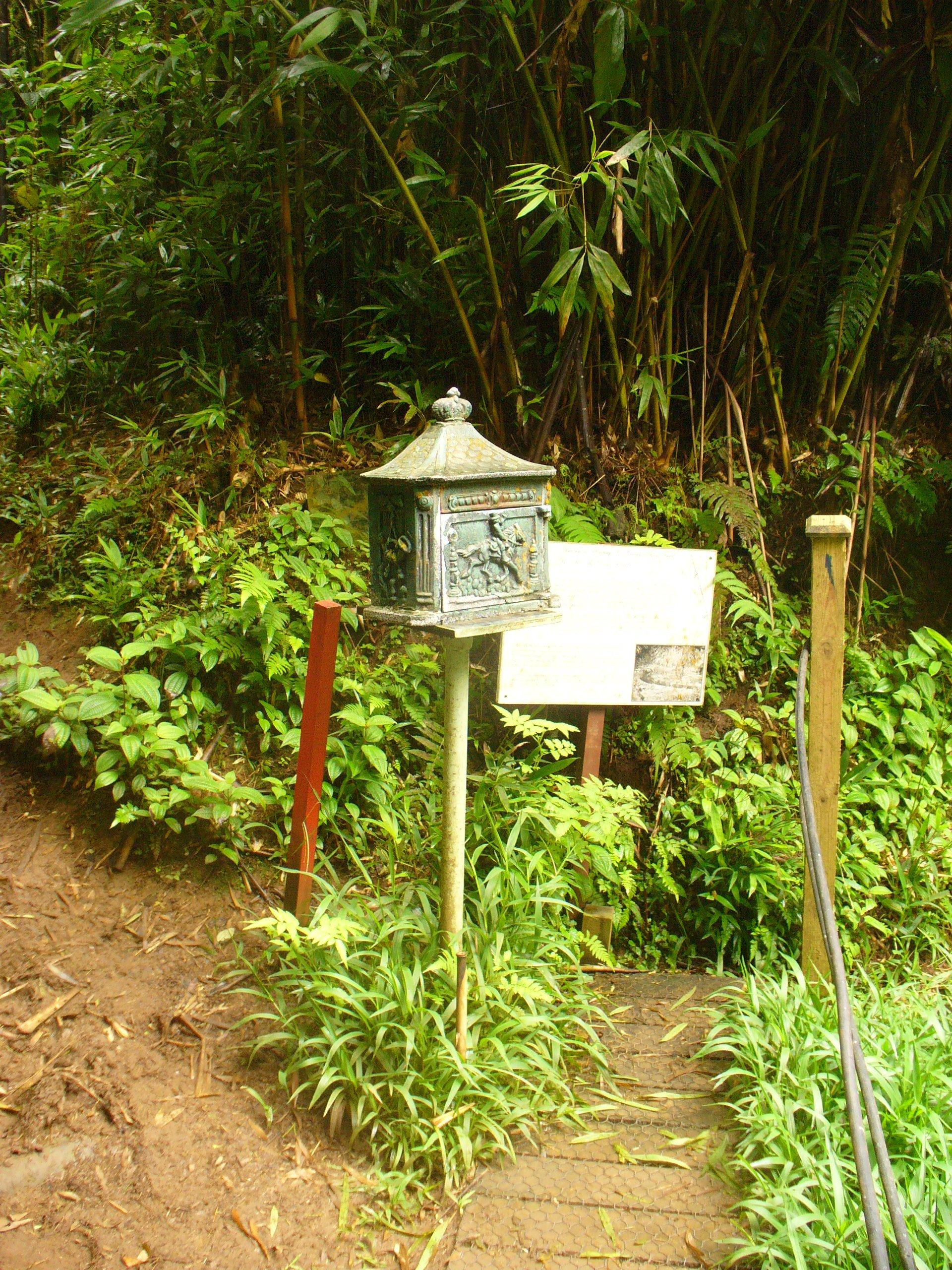 postbox on ascension island