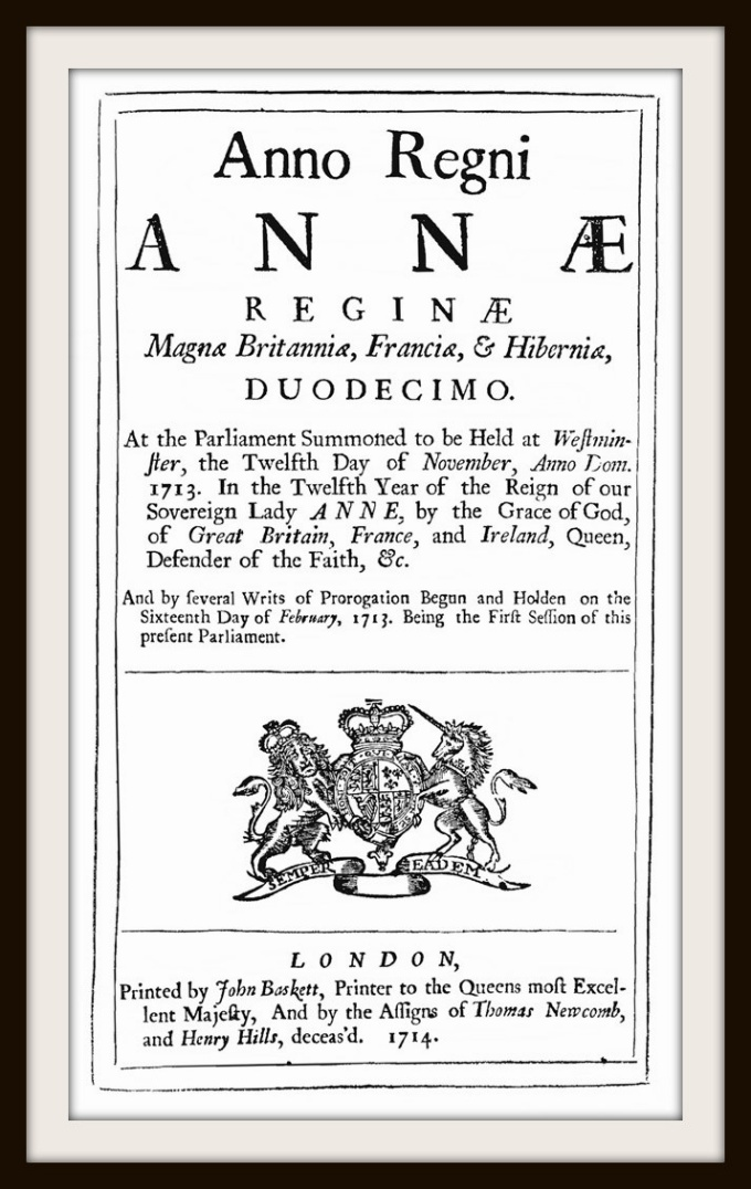 Longitude Act of 1714