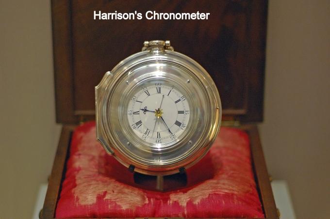 harrisons chronometer