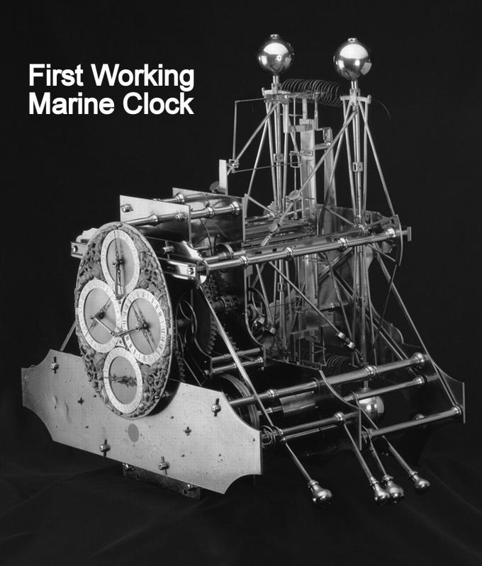 first working marine clock
