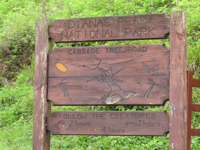 dianas peak sign