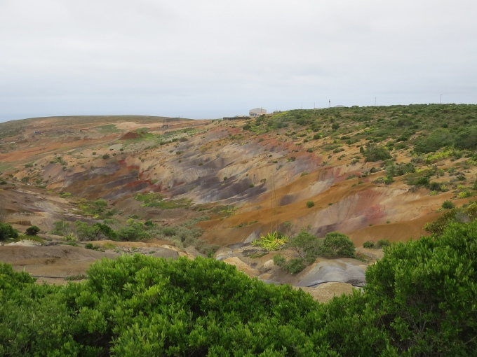 colors of natural erosion st. helena island
