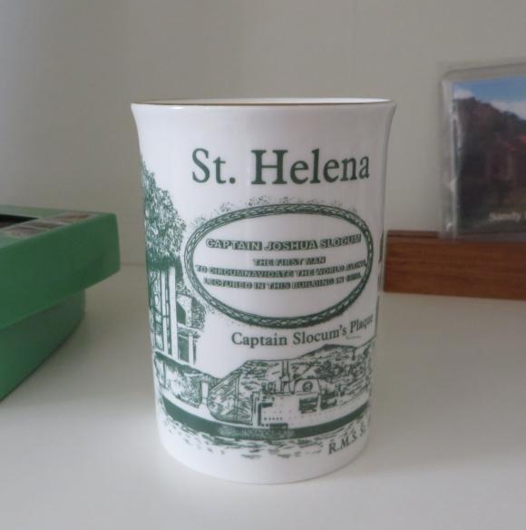 slocum mug on st. helena island