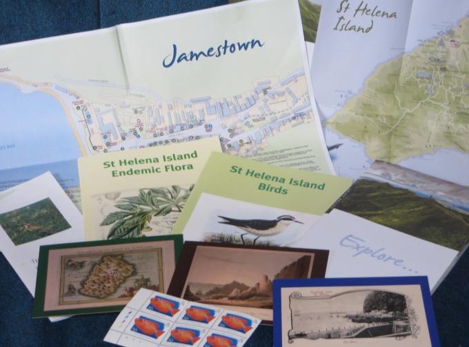 st. helena island brochures