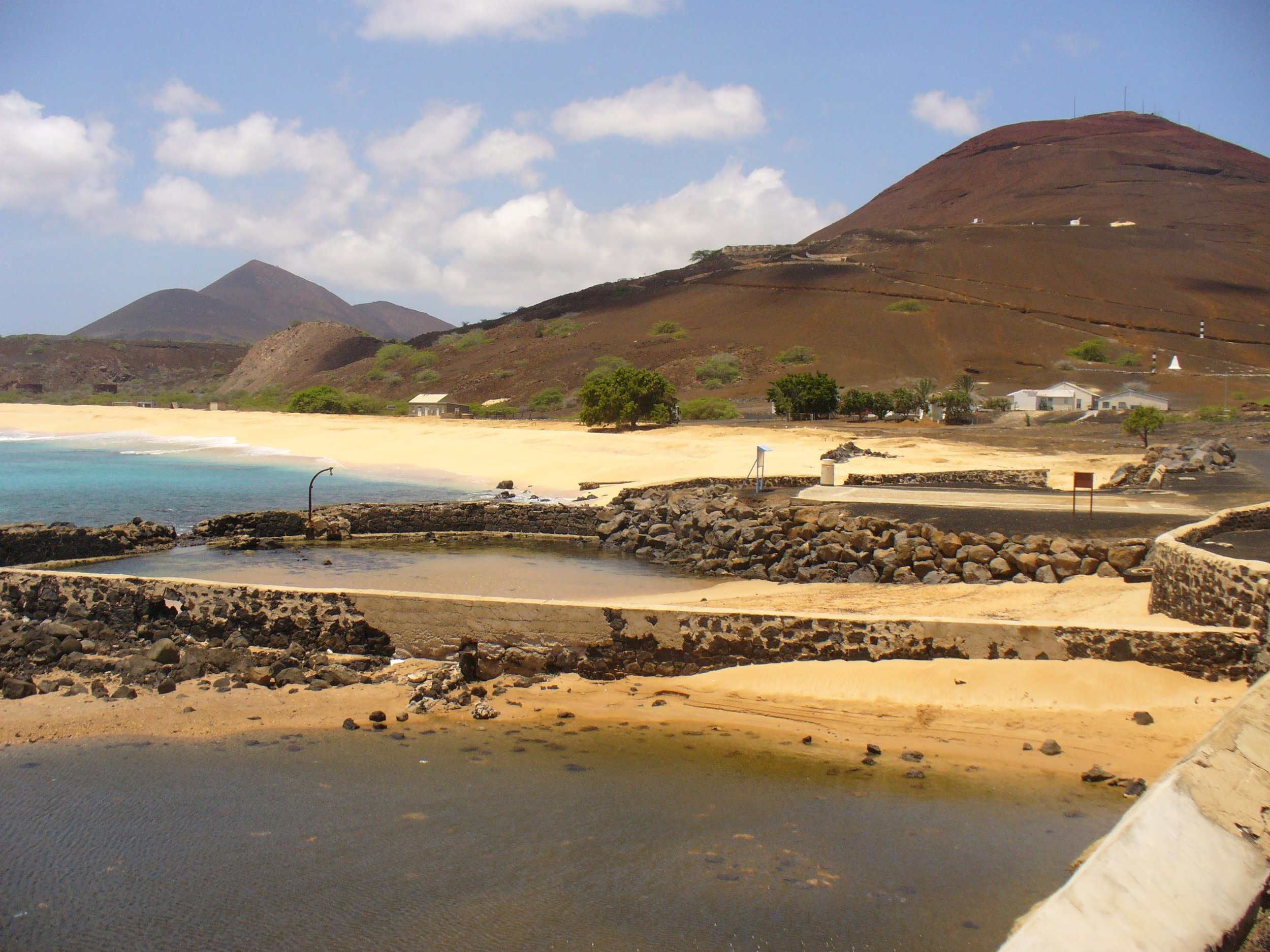 turtle corrals on ascension island