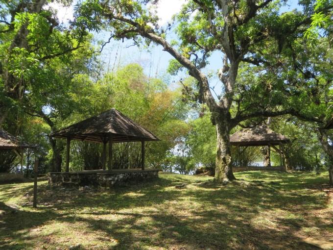 ile aux lepreux picnic shelters