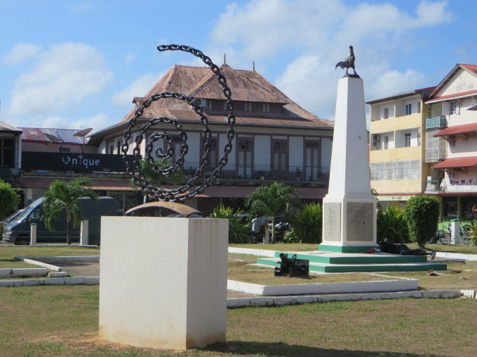 place du coque cayenne french guiana