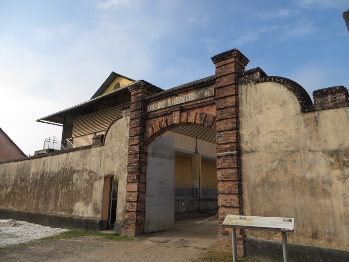 le camp de la transportation french guiana