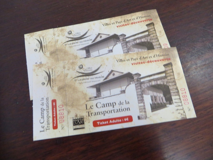 tickets to le camp de transportation french guiana