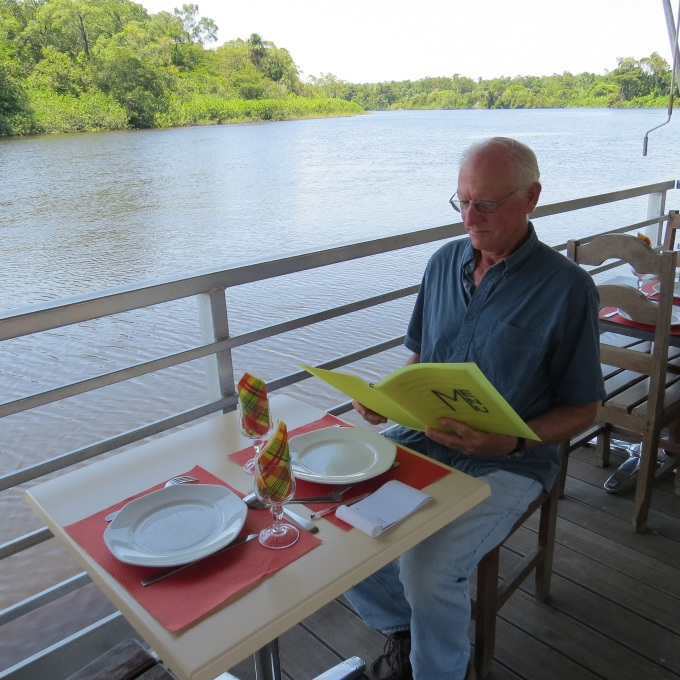 riverside coffee in french guiana