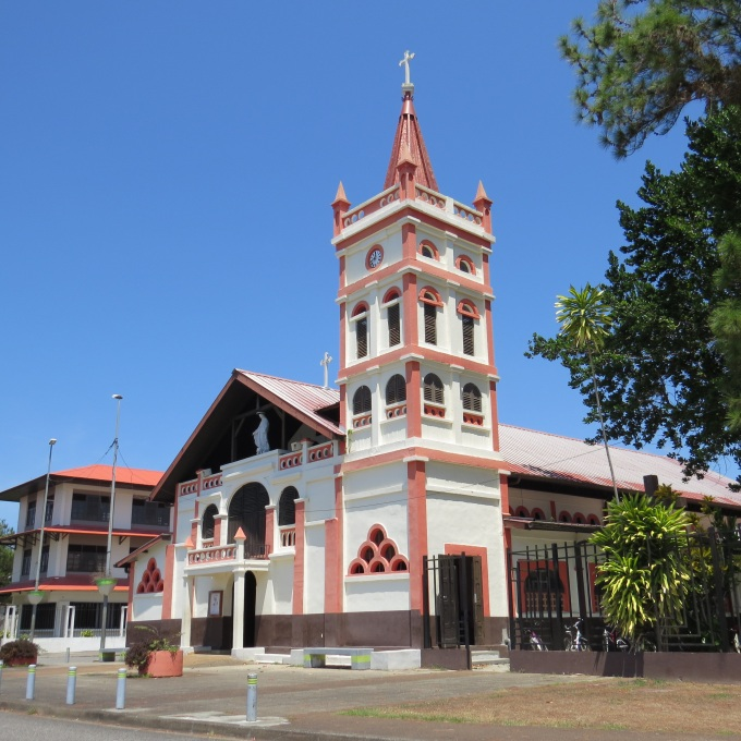 catholic church in sinnamarry french guiana