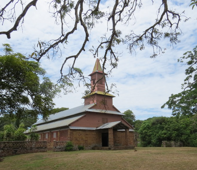 ile royale church french guiana