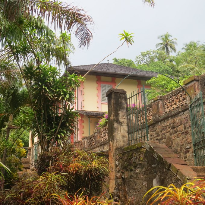 royale commandants house ile royale french guiana