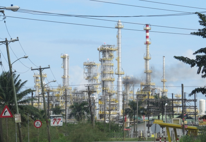 powerplant in paramaribo