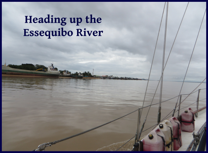 up the essequibo