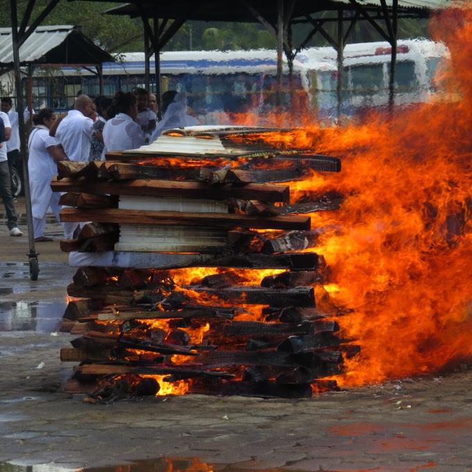 blazing pyre