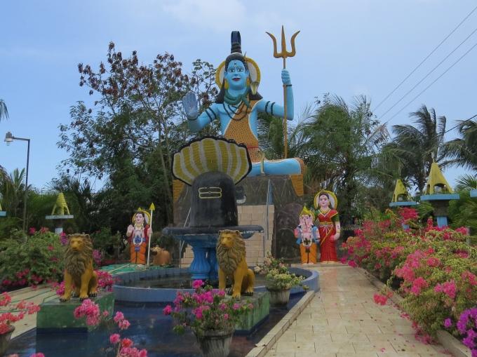 hindu garden in suriname