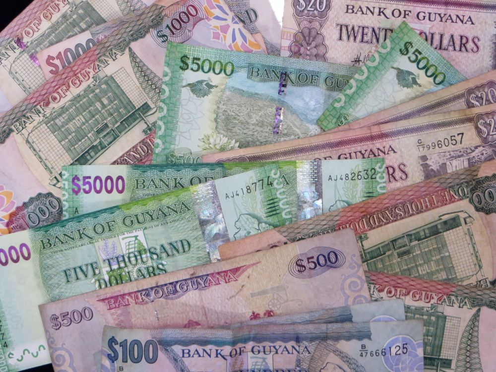 currency in guyana