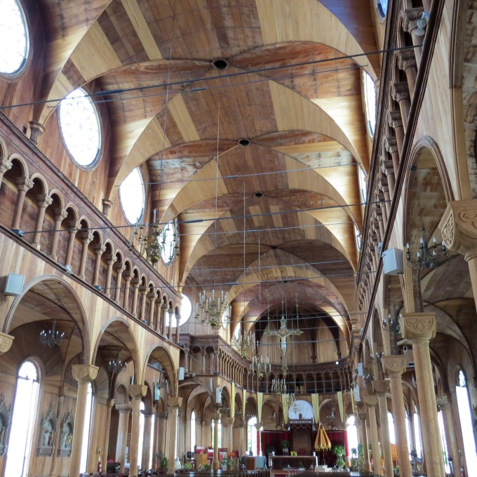 inside st peter and paul cathedral paramaribo suriname